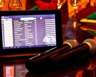 Электронное меню от Karaoke Club Brio