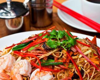 Китайская кухня в ресторане «Думан»