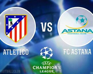 Смотрите матч «Атлетико Мадрид» - «ФК Астана» вместе с Admiral Pub & Karaoke!