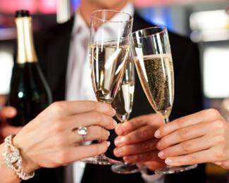 Corporate New Year / Корпоративный новогодний вечер в Holiday Inn Almaty