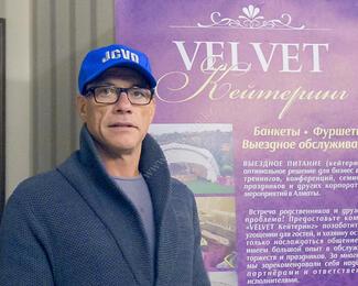Ресторан Velvet: Жан-Клод Ван Дамм в восторге от нас!