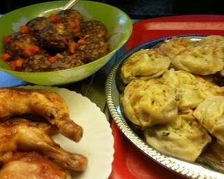 Комплексные обеды в столовой «Вкусная еда»