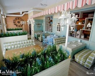 Добро пожаловать в ресторан La Villa!
