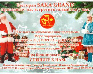 Новый год с Saka Grand