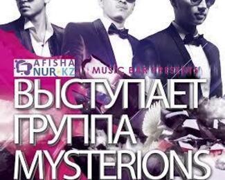 Группа Mysterions в Grand Opera Music Bar