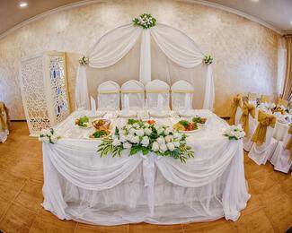 Свадебное оформление в подарок от Dilda
