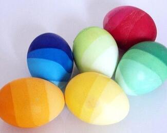 Сам себе Фаберже: оригинальные способы покраски яиц к Пасхе