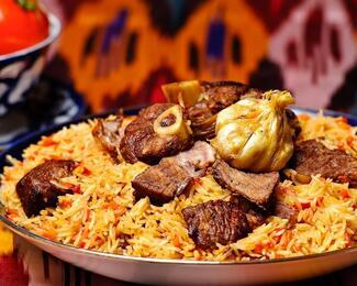 Узбекская кухня в ресторане «Аружан»