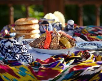 Узбекская кухня от ресторана Hayat Lyazzati