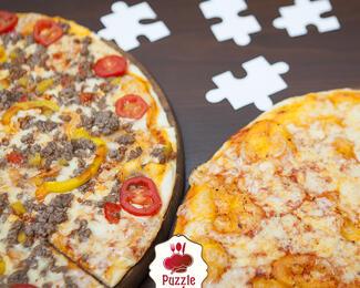 Акция на пиццу в Alberto баре