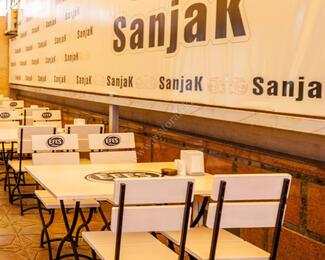 Приглашаем в зимний зал ресторана Sanjak