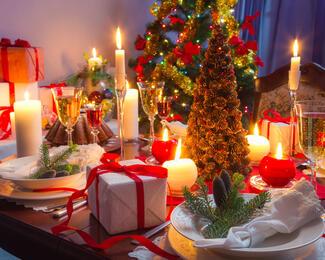 Новогодняя сказка в ресторане «Гульжан»