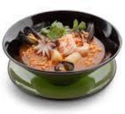 Рамён с морепродуктами