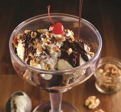 Шоколадный брауни «Хот Фадж»