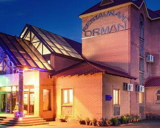 Новогодние корпоративы от ресторанного комплекса Orman!
