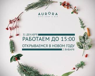 Про режим работы cafe Aurora