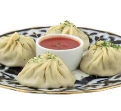 Манты уйгурские с рубленым мясом