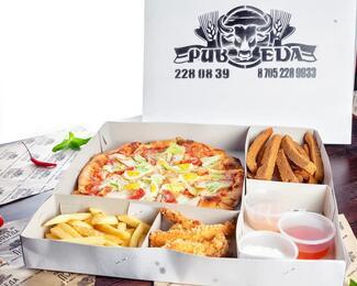 Дегустация пиццы на бизнес-ланче в PubEda