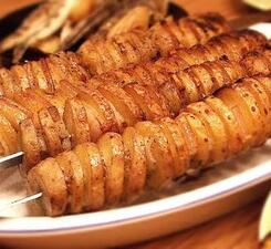 Шашлык картошка