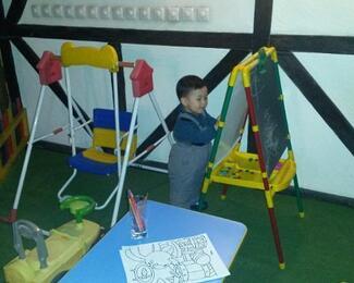 Детская зона в ресторане «Бочонок»