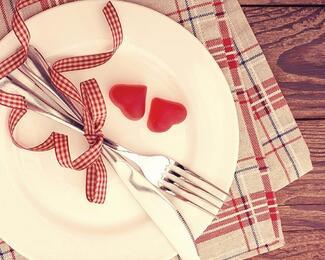 Рестораны для признания. Где отметить День святого Валентина в Астане?