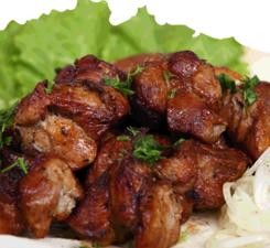 Шашлык из говядины по-кавказски