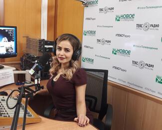 Ксения Готовская гость теле- и радиопередачи «Три товарища»
