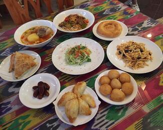 Ауызашар в ресторане «Тошкент»
