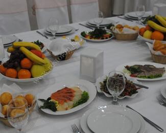 Рамазан в кафе «Жiбек»