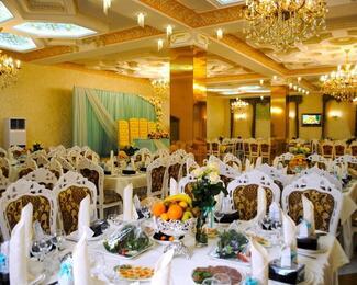 Приглашаем провести торжества в банкетном зале «Арыстан Сарай»