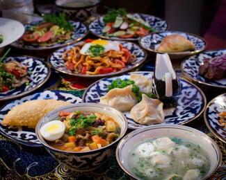 Доставка блюд из ресторана «ЯЛЛА»!