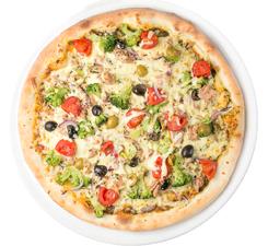 Green Tuna Pizza