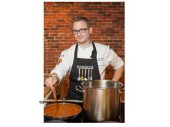 Кулинарный курс Николая Сарычева: «Авторские блюда «meatandmeat» и «сладкое затмение» новые рецептуры и идеи»
