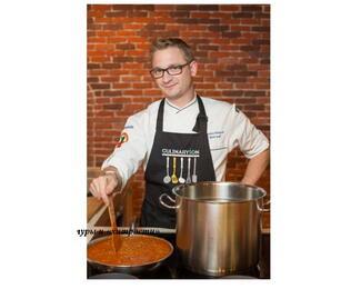 Кулинарный курс Николая Сарычева: «Авторские  блюда «meat and meat», и «сладкое затмение», новые рецептуры и идеи».