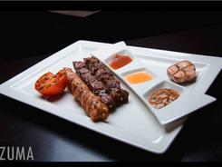 Ресторан ZUMA приглашает на шашлычное ассорти