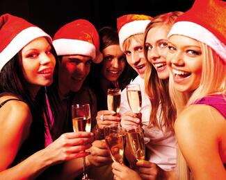 Новогодние корпоративные вечеринки в ресторане «Империя»