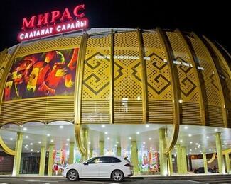 Корпоративный Новый год во Дворце торжеств «Мирас»