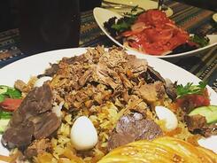 Ресторан Miraj с любовью к вам и к плову!