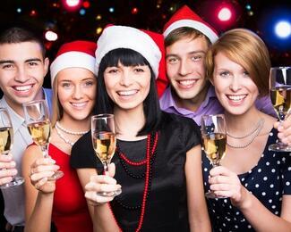 Новогодние корпоративы в ресторане «Алтын Сарай»