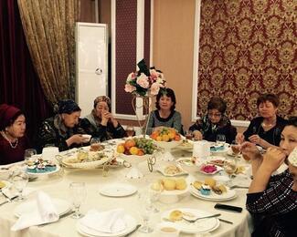 Международный день пожилых людей в ресторане TUMAR