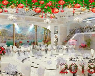 Новогодние корпоративы в ресторане Diadema
