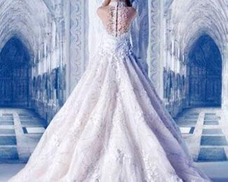 Зимняя сказочная свадьба во Дворце торжеств «Мирас»