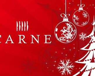 Ресторан CARNE приглашает провести новогодний корпоратив