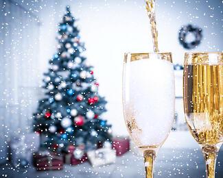 Новогодний корпоративный праздник в VIP-зале Дворца торжеств «Мирас»