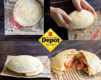 Карманный бутерброд в Depot!