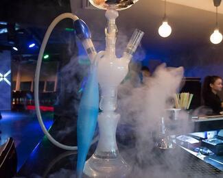 Дымная акция в «Просто бар»