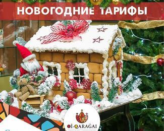 Новый год 2019 в Oi-Qaragai Lesnaya Skazka