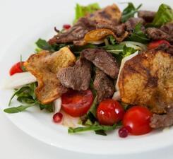 Баранина с овощами