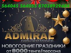 Встречаем Новый Год в «ADMIRAL»