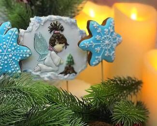 Новогодние торты и пряники от кондитерской «Хани»